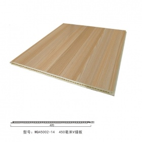 Moistureproof Mildew Proof Eco-Friendly Products WPC Wall Panels