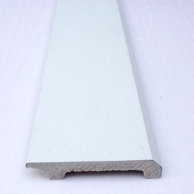 2.75inch Wide White Waterproof Skirting Boards