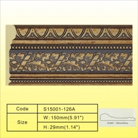 5.9inch Wide Big Wall Decorative Plastic Mouldings