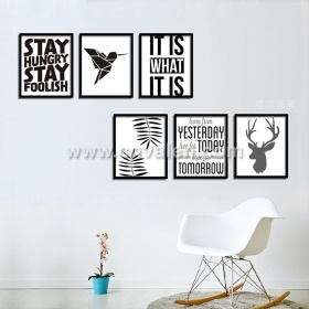 Small Picture frames Frame with Canvas Artwork