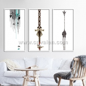 Custom Wall Printing Glass Painting Art Photo Picture Frames