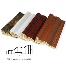 PVC wall Interior decorative moulding