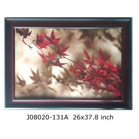 Promotion Picture Frame with Maple and Maple Leaves