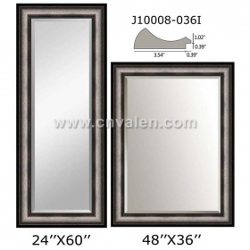 Wood Color Wall Plastic Full Length Mirror Frames