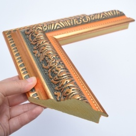 Ornate Manufacturers Wholesale Plastic Moulding Frames for Art Frames