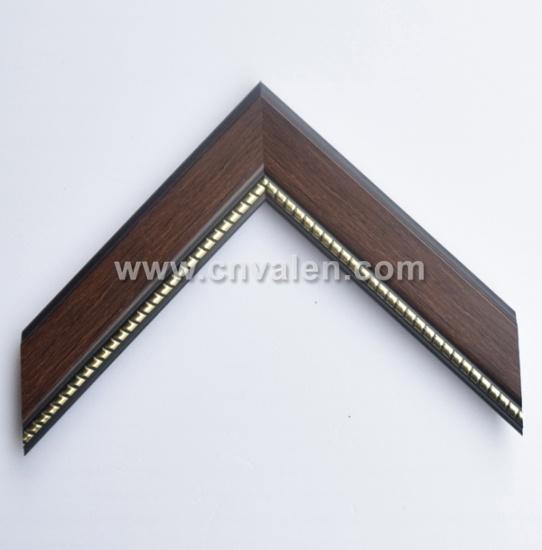 Custom Cherry Picture Frame Polystyrene Frame Mouldings