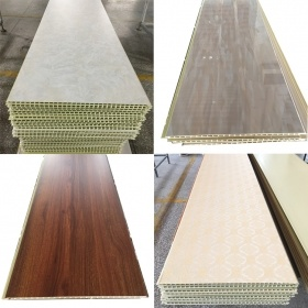 600mm Cheap Fireproof WPC Cladding Interior Decorative Wall Panel